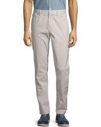 Michael Kors - Slim-fit Five-pocket Twill Pants - Lyst