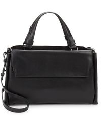 Halston - Strappy Large Satchel Bag - Lyst