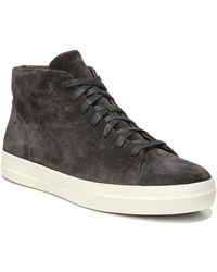 Vince - Cullen Sport Suede High-top Trainers - Lyst