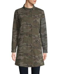 Etienne Marcel - Camouflage Military Cotton Jacket - Lyst