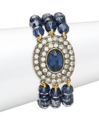 Heidi Daus - Crystal Oval Center Bracelet - Lyst
