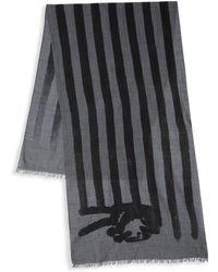 John Varvatos - Peace Flag Merino Wool Scarf - Lyst