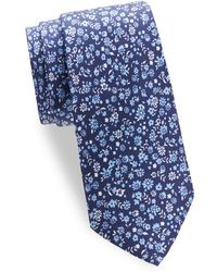 Saks Fifth Avenue - Scattered Floral Silk Tie - Lyst