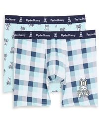 Psycho Bunny - 2-pack Stretch Cotton Boxer Briefs - Lyst