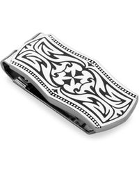 Lotus - Ornate Money Clip - Lyst