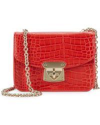 Sam Edelman - Chain-strap Textured Bag - Lyst