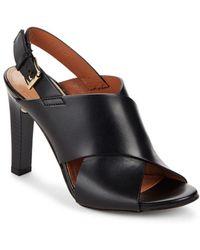 BCBGMAXAZRIA - Pascal Leather Heels - Lyst