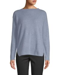Saks Fifth Avenue - Boatneck Cashmere Jumper - Lyst
