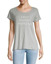 Marc New York - Sunday Morning Short-sleeve Tee - Lyst