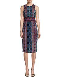 Maggy London - Sleeveless Knee-length Sheath Dress - Lyst