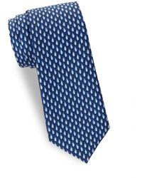 Saks Fifth Avenue - Penguin-print Silk Tie - Lyst