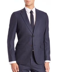 Theory - Slim-fit Malcolm Wool Jacket - Lyst