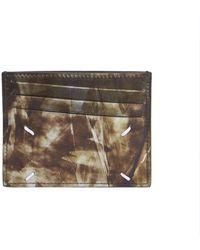 Maison Margiela - Printed Leather Card Case - Lyst