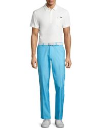 J.Lindeberg - Mikael Cotton Blend Polo - Lyst