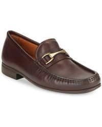 Vince Camuto - Leather Horsebit Loafers - Lyst
