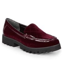 Donald J Pliner - Renee Slip-on Platform Loafers - Lyst