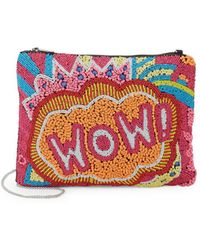 Circus by Sam Edelman - Wow Beaded Convertible Pouch - Lyst