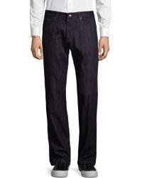 Giorgio Armani - Classic Cotton Jeans - Lyst