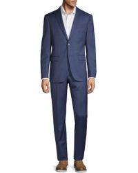 John Varvatos - Classic Fit Pinstripe Wool Suit - Lyst