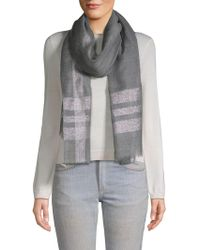 Saachi - Pillar Bordered Scarf - Lyst
