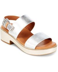 Gentle Souls - Talia Leather Sandals - Lyst