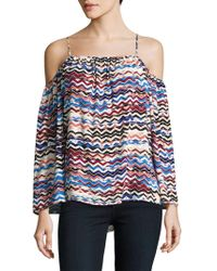 Vince Camuto - Herringbone Muses Off The Shoulder Top - Lyst