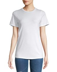 Project Social T - Holey Cotton Tee - Lyst
