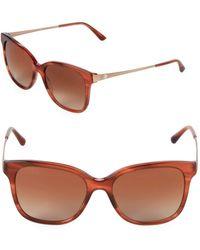 Giorgio Armani - 54mm Square Sunglasses - Lyst