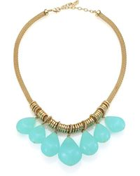 ABS By Allen Schwartz - Seaglass Brights Beaded Chain Rope Necklace - Lyst