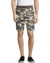 Sovereign Code - Somerset Camouflage Shorts - Lyst