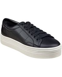 Marc Fisher - Emmy Platform Lace-up Sneakers - Lyst