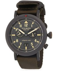 Filson - Scout Dual-time Stainless Steel Strap Watch - Lyst