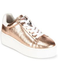 Ash - Cult Rame Leather Sneakers - Lyst