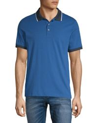 Perry Ellis - Contrast Polo Shirt - Lyst