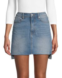 Vigoss - Jagger Denim Mini Skirt - Lyst