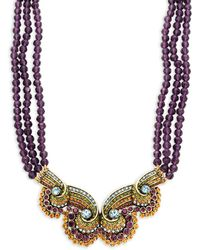Heidi Daus - Beaded Statement Necklace - Lyst