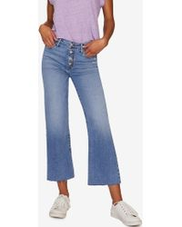 Sanctuary Clothing - Non Conformist Crop Exposed Fly Jean - Lyst