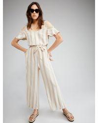 Sanctuary Clothing - Chasing The Sun Linen Jumpsuit - Lyst