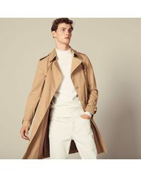 Sandro Trench-coat ceinturé - Neutre