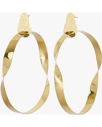 Sass & Bide - Twisted Facade Earring - Lyst