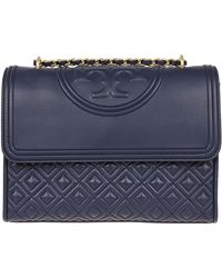 5a4a8bdf5f3 Tory Burch Sadie Velvet Bag in Green - Lyst