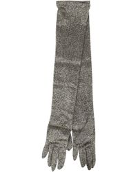 Dries Van Noten - Glittery Gloves - Lyst
