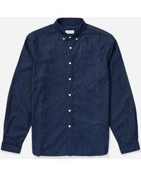 Saturdays NYC - Crosby Button Down Denim Shirt - Lyst