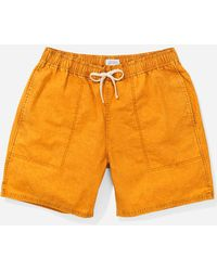 Saturdays NYC - Ritchie Mineral Wash Short - Lyst