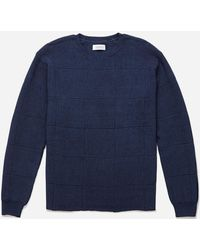 Saturdays NYC - Lee Window Pane Sweater - Lyst