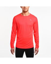 Saucony - Hydralite Long Sleeve - Lyst