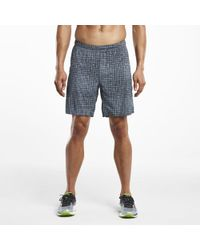 Saucony - Interval 2-1 Short - Lyst