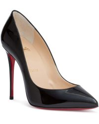 Christian Louboutin - Pigalle Follies 100 Patent Black Pump Us - Lyst