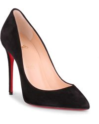 new styles 07e3a 6d729 Pigalle Follies 100 Black Suede Pump