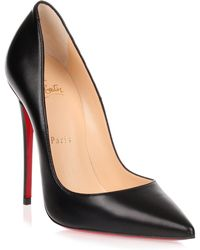 Christian Louboutin So Kate Leather 120mm Pumps